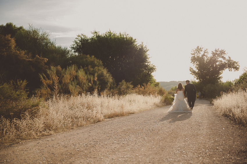 Reportaje trash the dress o postboda